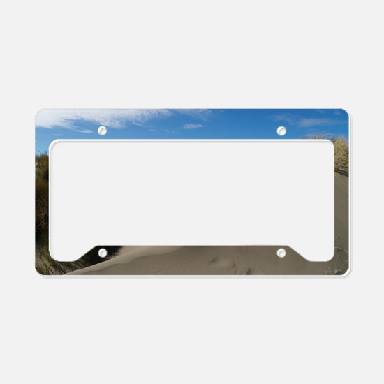 dunelargeposter License Plate Holder