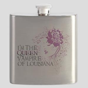 Queen Hat Flask