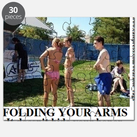 FOLDING YOUR ARMS2 Puzzle