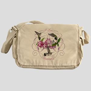 I love hummingbirds 2 Messenger Bag