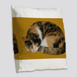 Callico Napping Burlap Throw Pillow