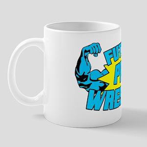 Future Pro Wrestler Blue Mug