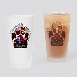 Rough Draft Patch16 Drinking Glass