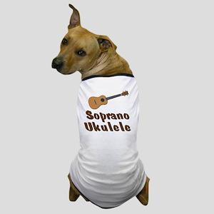 Soprano Ukulele Dog T-Shirt