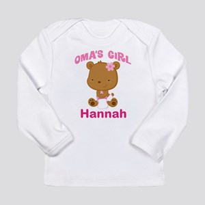 Personalized Omas Girl Long Sleeve T-Shirt