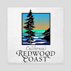 Californias Redwood Coast Queen Duvet