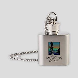 Californias Redwood Coast Flask Necklace