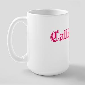Callipygian_white Large Mug