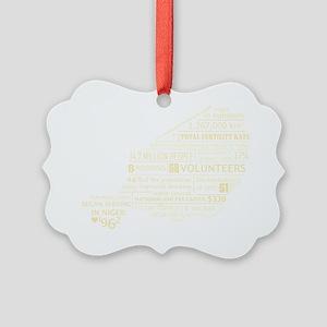 Niger_White Picture Ornament