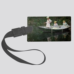 The Boat at Giverny, c.1887  by  Large Luggage Tag