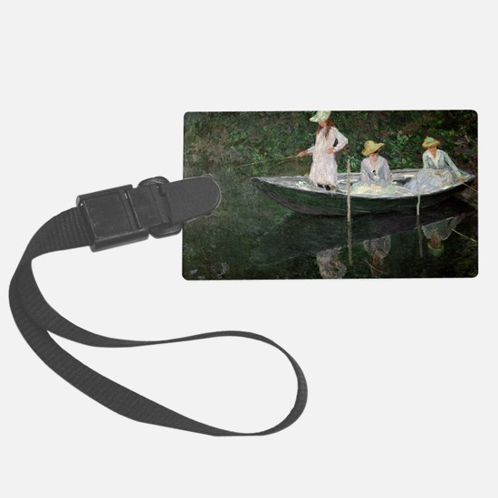 The Boat at Giverny, c.1887  by  Luggage Tag