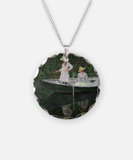 The Boat at Giverny, c.1887  Necklace