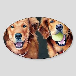 Goldens Sticker (Oval)