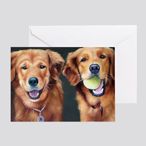 Goldens Greeting Card