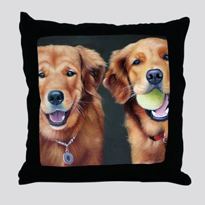 Goldens Throw Pillow