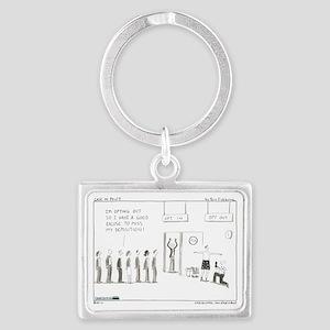 101129.optout Landscape Keychain