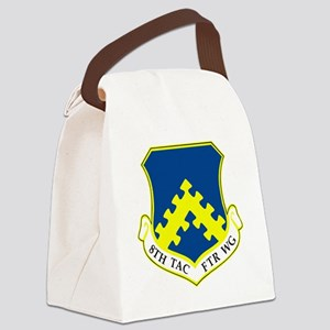 8th Tactical Fighter Wing Canvas Lunch Bag