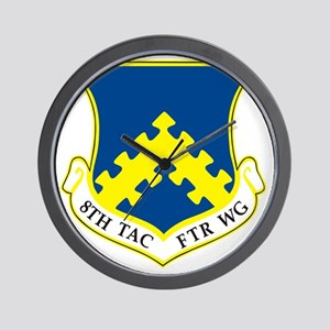 8th Tactical Fighter Wing Wall Clock