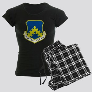 8th Tactical Fighter Wing Women's Dark Pajamas