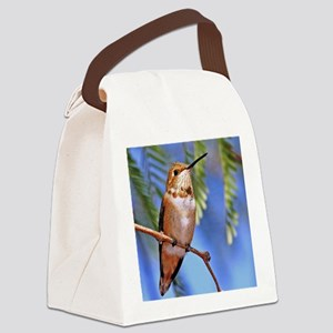 Rufous 132notecard Canvas Lunch Bag