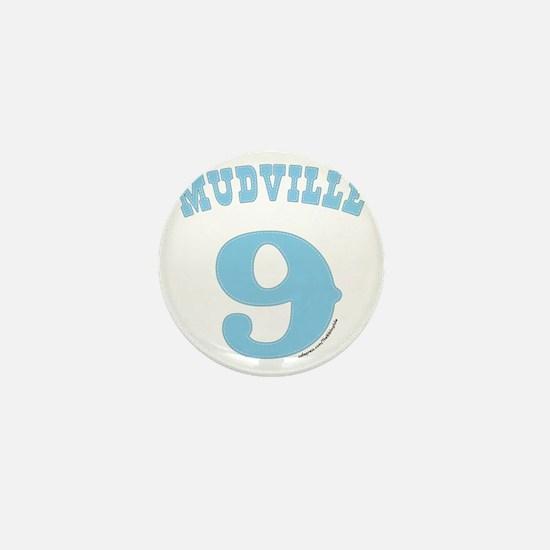 Mudville9 (baby blue) Mini Button