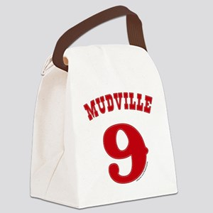 Mudville9 (red) Canvas Lunch Bag
