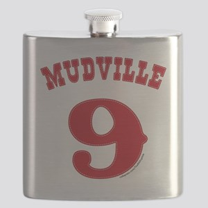 Mudville9 (red) Flask