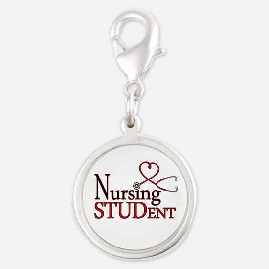Nursing Student Cute Heart Stethoscope Charms