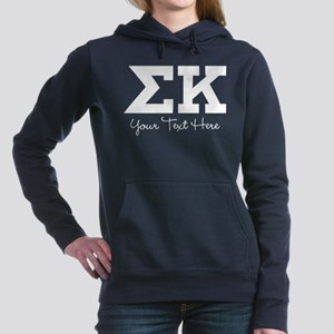 Sigma Kappa Letters Women's Hooded Sweatshirt
