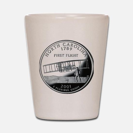 quarter_north_carolina_600 Shot Glass