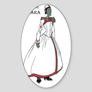 T-Yara Sticker (Oval)