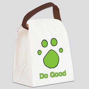 Do Good Bright Green Resv Canvas Lunch Bag