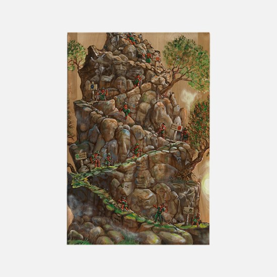 Scout Eagle Mountain 24x36 Rectangle Magnet