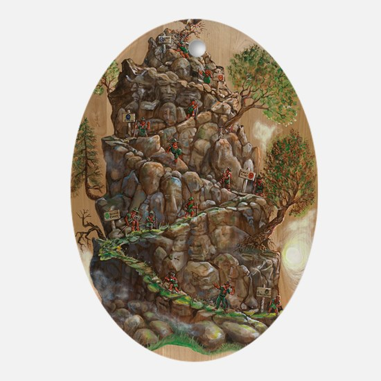 Scout Eagle Mountain 24x36 Oval Ornament