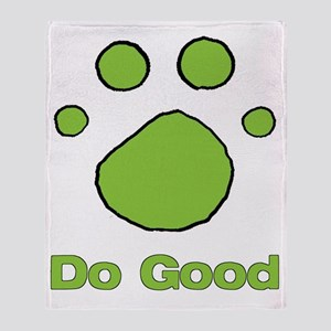 Do Good Bright Green Resv Throw Blanket