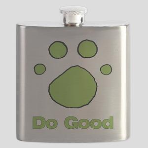 Do Good Bright Green Resv Flask