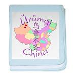Urumqi China baby blanket