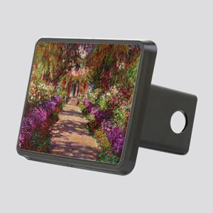 A Pathway in Monets Garden Rectangular Hitch Cover