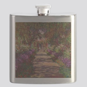 A Pathway in Monets Garden, Giverny, 1902 by Flask