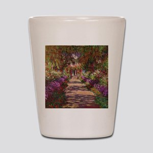 A Pathway in Monets Garden, Giverny, 19 Shot Glass