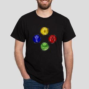 Yum Xbox Controller buttons Dark T-Shirt