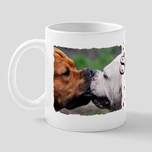 Pit Bulls bumper Mug