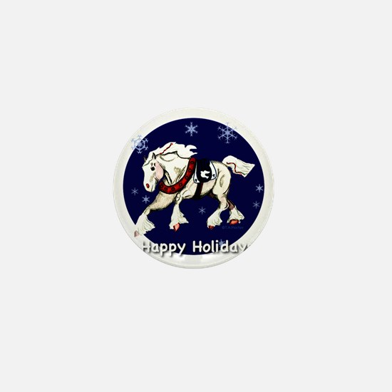 happyholidaysdrafttd Mini Button