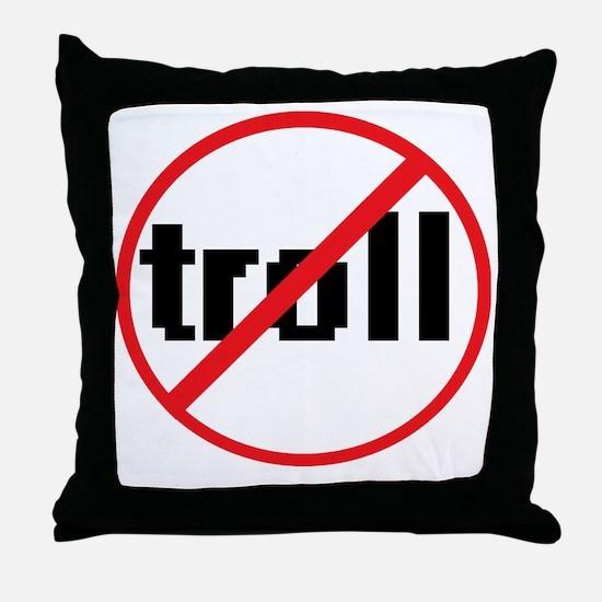 troll Throw Pillow