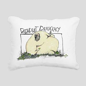 dec Rectangular Canvas Pillow