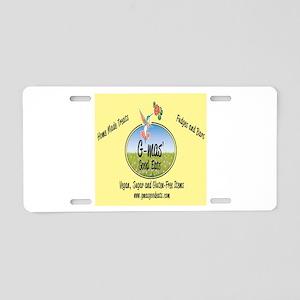 gmas logo Aluminum License Plate