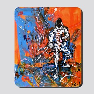Abstract Epee2 Mousepad