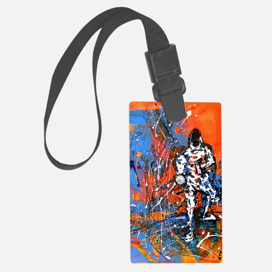 Abstract Epee2 Luggage Tag