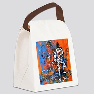 Abstract Epee2 Canvas Lunch Bag