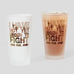John Paul Jones 2 Drinking Glass